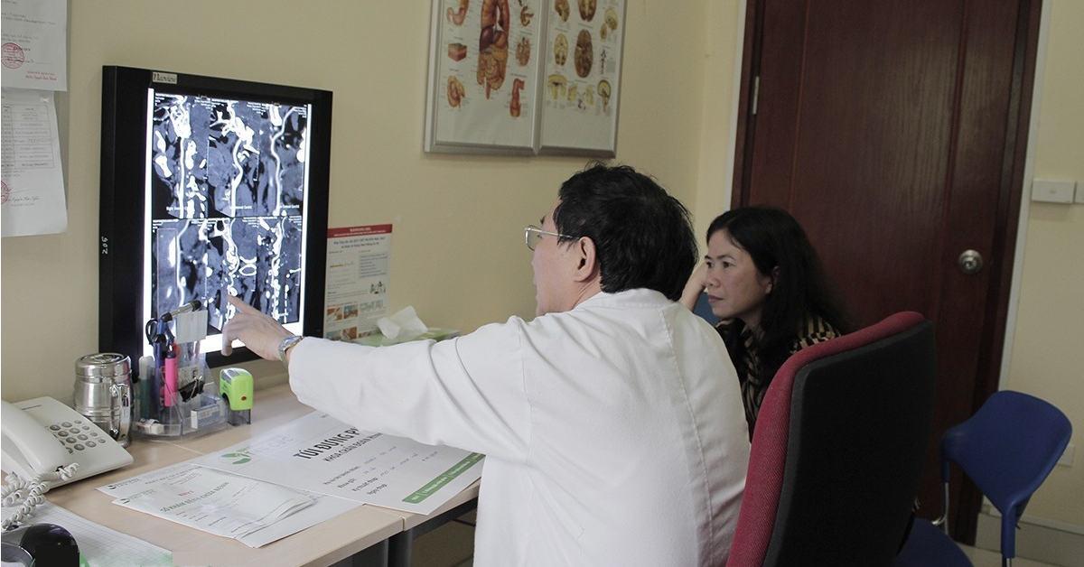 Bệnh viện Thu Cúc có thế mạnh về Nội Tim mạch