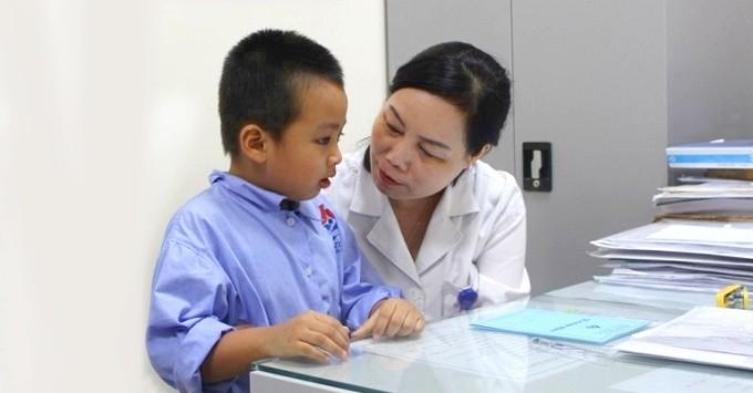 Pgs.Ts.Bs. Nguyễn Thị Hoài An chuyên gia về bệnh Tai Mũi Họng trẻ em