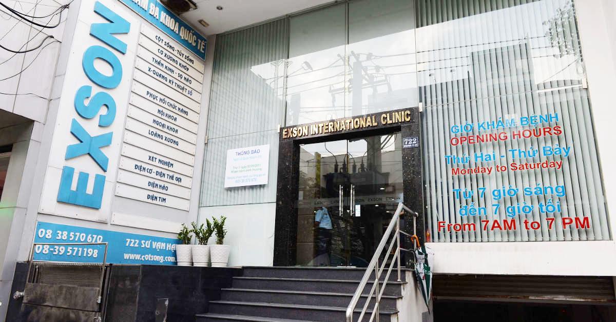 Phòng khám Exson có thế mạnh về điều trị thoái hóa cột sống