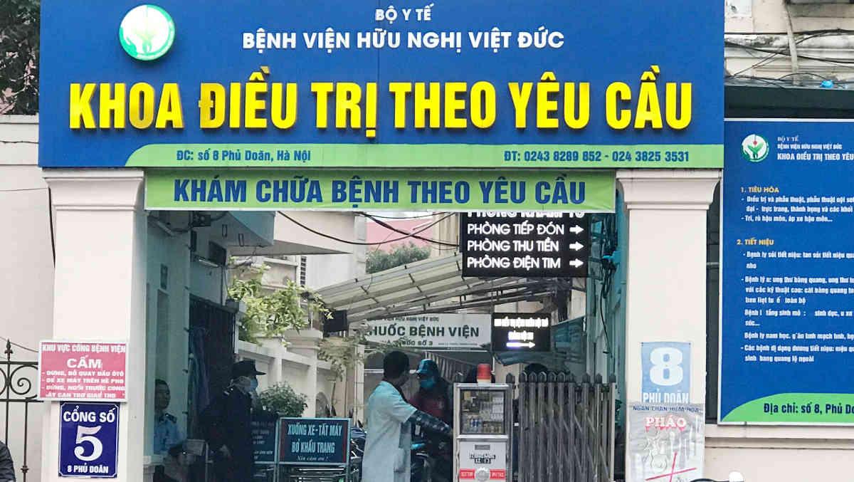 Bệnh viện Việt Đức: Hướng dẫn đi khám và chọn bác sĩ giỏi