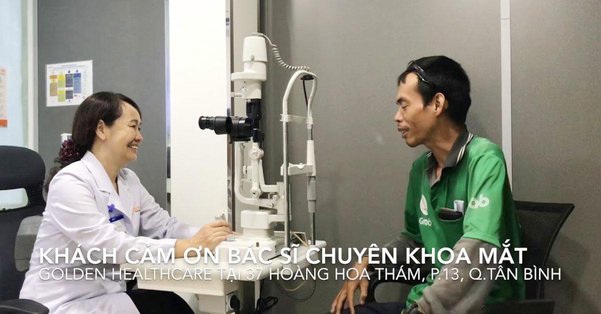 Bác sĩ chuyên khoa I Đặng Phương Hạnh thăm khám tại Phòng khám Golden Healthcare